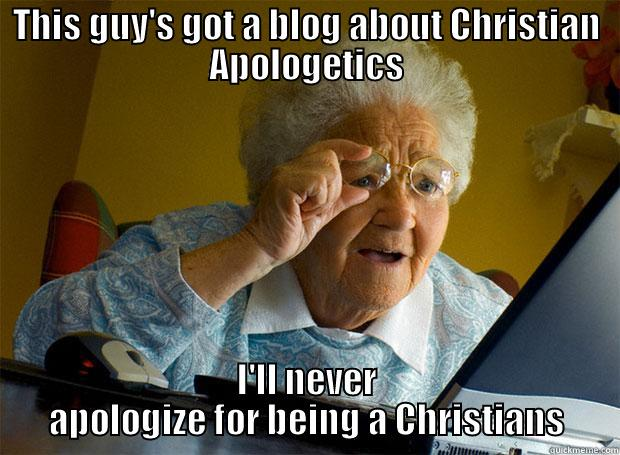 apologetics meme
