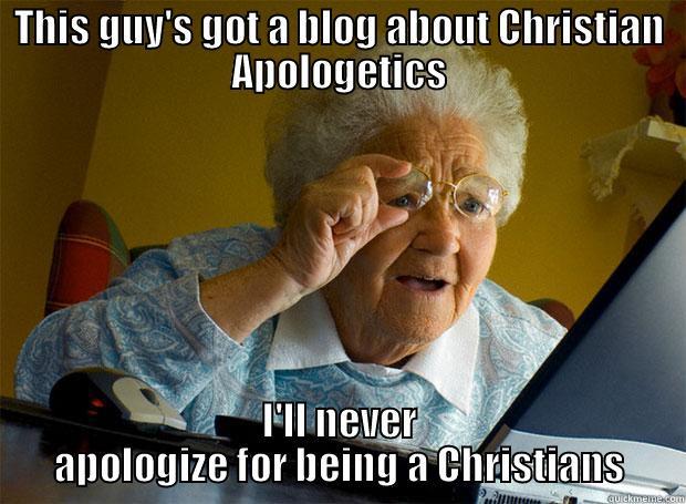 apologetics meme